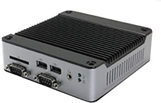 Mini Box PC EB-3362-L2222C1 Supports VGA Output, up to Two RS-422 outputs, RS-232 Output, and Auto Power On. It Features 1...