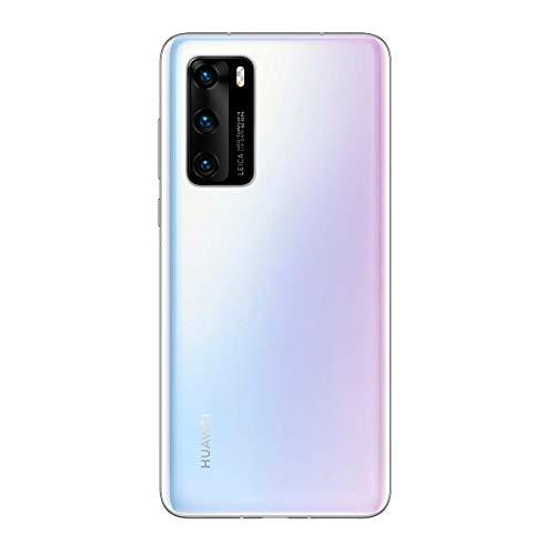 Huawei P40 5G - Smartphone 128GB, 8GB RAM, Dual Sim, Ice White