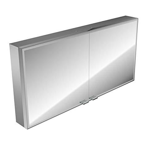 Emco asis LED-Spiegelschrank Prestige AP 1287 mm, ohne Radio, Farbwechsel