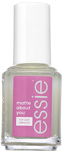 Essie Top Coat matte about you, Schutz und Matt-Finish, Transparent, 13.5 ml