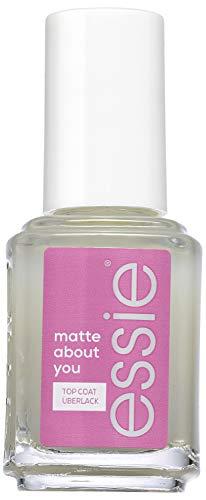 Essie Top Coat matte about you, Schutz und Matt-Finish, Transparent, 13.5 ml
