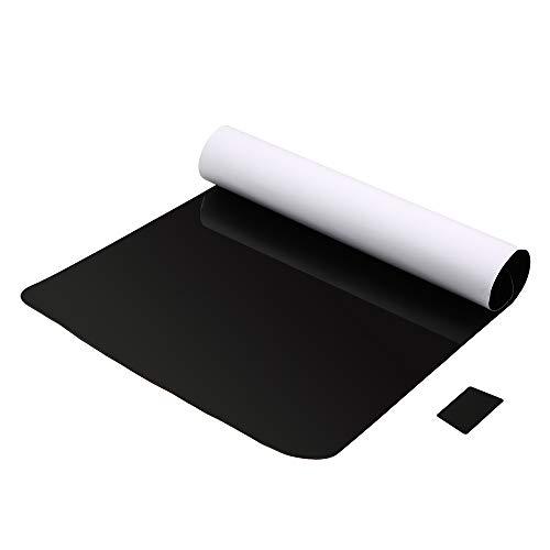 KKmoon UV Pegatina PVC Electrostática Film Parasol Ventana Lateral de Coche, Reduce Calor Aislado Coche Sun Shade 105 x 52cm cm (1pc)