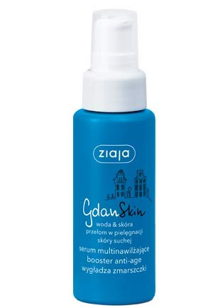 Ziaja GdanSkin - Suero hidratante antiedad, antiarrugas, suave, 50 ml