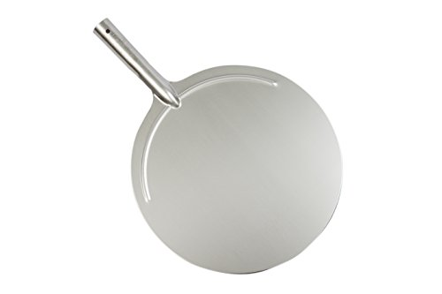 Falci 249965-36- Pala Redonda de Pizza de Acero Inoxidable, diámetro 36cm