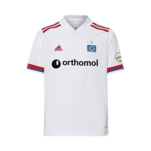 adidas Hamburg Sv Trikot Saison 2020/21 Unisex Erwachsene XL weiß/Scharlachrot / (hsvblu)