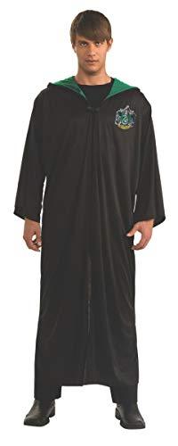 Harry Potter Adult Slytherin Robe, Black, Standard Costume