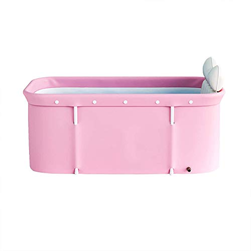 Bañeras Plegables Para Adultos, Bañera Portátil Plegable, Bañera Cilíndrica Para Spa Familiar Para Adultos - 120X55x50cm
