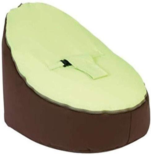 LHY- Bean Confortable Sac bébé Seat Lazy Couch Beanbag Allaitement Lit bébé Lit d'alimentation Recliner Doux (Color : Green)