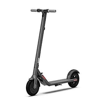 Segway Ninebot E22 Electric Kick Scooter Lightweight and Foldable Upgraded Motor Power Dark Grey
