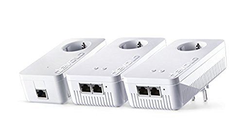 Devolo dLAN 1200 + WiFi - adaptador Powerline, ideal para juegos...
