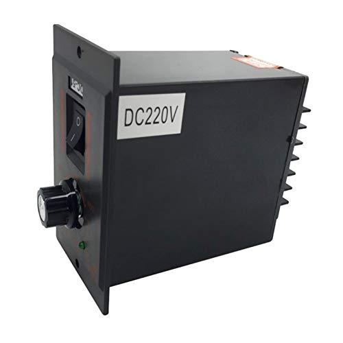 Pilang zxxin-Motores DC, 0~180vdc de Salida 250W Regulador de Velocidad máxima de Entrada AC220V, Controlador de Velocidad de Motor DC-51 DC, Duradero (Speed(RPM) : DC 180 V, Voltage(V) : Negr