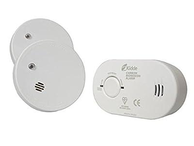 Kidde KSCO2SA Twin Smoke Alarm & Carbon Monoxide Alarm Pack