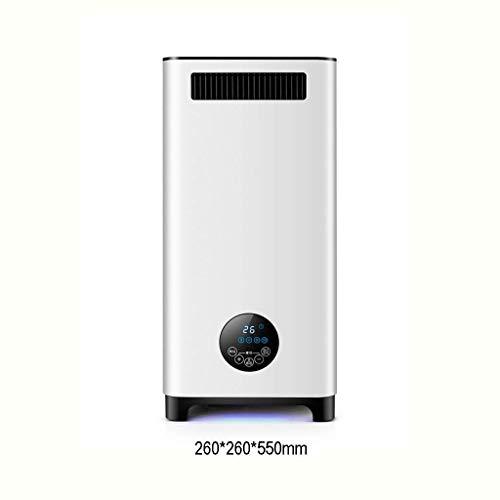 HAOSHUAI Startseite Ventilator, 2200W Elektrische Heizungen Freistehendes Energy Efficient mit justierbarem Thermostat 2 Heizstufen, Turm Heizlüfter mit Fernbedienung und Timer