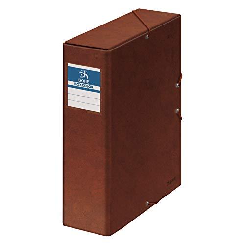 Dohe 9574 - Caja proyectos lomo, Estampado Cuero, 9 cm