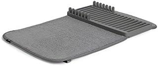 UMBRA Udry Mini. Petit égouttoir à vaisselle et tapis de séchage en microfibre – Léger, pliable et facile à ranger - dim 3...