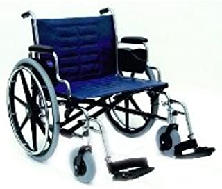 Invacare Tracer IV Wheelchair with Heavy Duty Wheels - Tracer IV Wheelchair 24 in x 18 in Seat, Desk-Length Arms 9153639571 - A13610 02