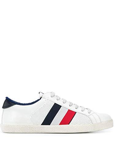 Moncler Luxury Fashion Herren 4M7130002S7X032 Weiss Leder Sneakers   Frühling Sommer 20
