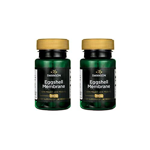 Swanson Eggshell Membrane 500 mg 30 Veg Caps 2 Pack