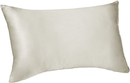 Pinzon -  funda de almohada de seda reversible - 50x75cmx1, Marfil