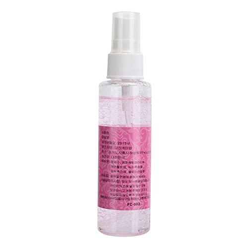 Limpiador de extensión de pestañas, cómodo 70ml Safe Rose Fragrance Eyelid Foaming Cleanser Limpiador de pestañas para uso diario para eliminar grasa y polvo