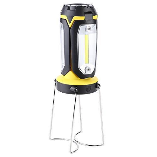 Dioche rutschfeste LED-Taschenlampe, Außenleuchten, Camping-Wanderlampen-Beleuchtungswerkzeug Kunststoffmaterial Angeln für Bauarbeiten Camping-Wanderausfälle