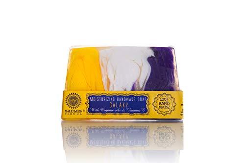 GALAXY Fruitige handgemaakte zeep | 100% biologisch, veganistisch en zonder dierproeven | handzeep | geurzeep in vele verschillende soorten