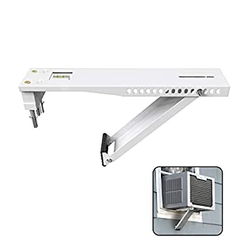 BJADE S Universal Window Air Conditioner Bracket,Light Duty,Support Up to 85lbs,Fits for 5000-12,000 BTU AC Units.