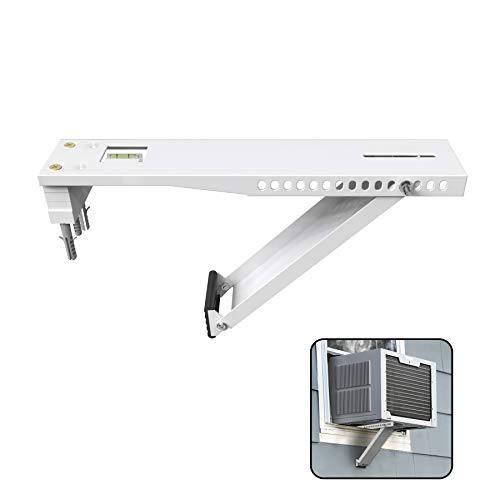 BJADE'S Universal Window Air Conditioner Bracket,Light Duty,Support Up to 85lbs,Fits for 5000-12,000 BTU AC Units.