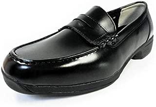 [BRAVAS] Lapel(Moonstar) 高機能ローファー 黒 ワイズ3E 27.5cm、28cm、29cm、30cm、31cm、32cm[大きいサイズ(ビッグサイズ) メンズ学生ローファー、学生靴、通学靴、紳士靴]