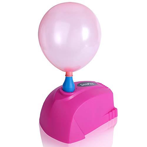 Deeplee Mini Pompe à Ballon, Gonfleur Ballon 300W Portable Pompe électrique pour Ballons de baudruche, Fête, Mariage et Anniversaire