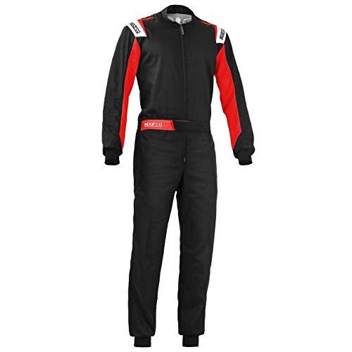 Sparco 002343NRRS2M Rookie Kart pak M, zwart/Re