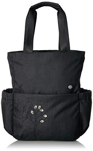 HAIKU Women's Discover Eco-Friendly Adjustable Travel Backpack, Black Morel