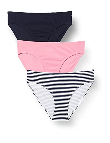 Schiesser Mädchen Unterwäsche Slips 3er Pack - 95/5 Organic Cotton, Mehrfarbig 1, 176
