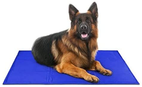Pet Dog Self Cooling Mat Pad for Kennels, Crates and Beds 31.4...