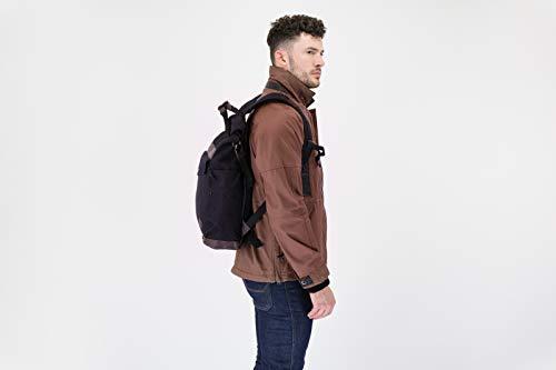 Knox Trekker Rucksack, Schwarz, 1