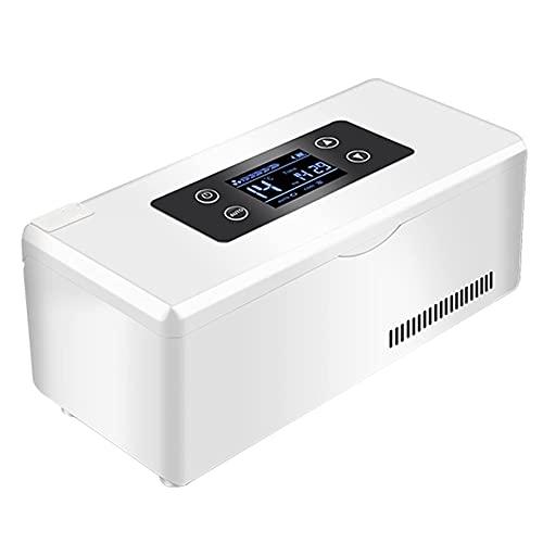 Enfriador de insulina portátil Caja refrigerada - Refrigerador de medicamentos para el hogar Enfriador de insulina con espacio de refrigeración para mantener la insulina fría