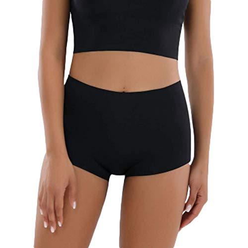 Pantalones Cortos para Mujer Pantalones Cortos de Verano Finos y Ajustados con Fondo de Seguridad Pantalones Cortos Deportivos Casuales para Correr M