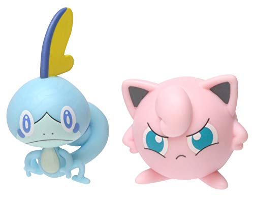 PoKéMoN Figure Battle 2-Pack, Jigglypuff & Sobble, Newest Wave 2020