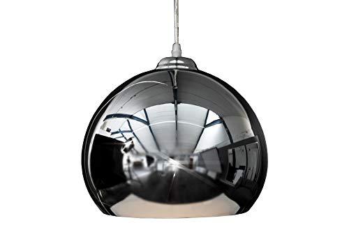DuNord Design Hängelampe Pendellampe Kugellampe chrom Retro Design Lampe CHROMATRON 70er Style