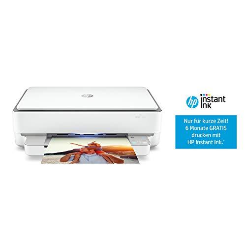 HP ENVY 6020 Multifunktionsdrucker (Instant Ink, Drucker, Scanner, Kopierer, WLAN, Airprint) inklusive 6 Monate Instant Ink