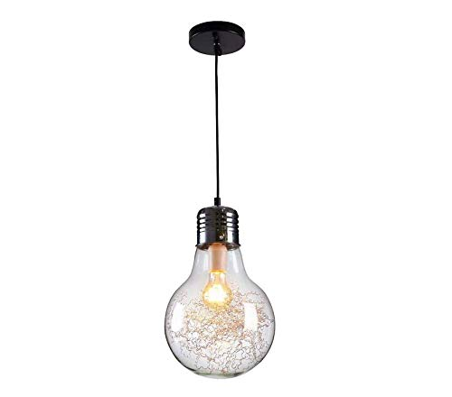 Lámpara de techo-proyector-lámpara Lámpara de techo Lámpara de techo Lámpara colgante 2017 NUEVO (E27 Base de lámpara de tornillo, JUST Pantalla de lámpara transparente, Excluyendo bombilla, Máx. 40
