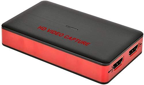 DIGITNOW! USB 3.0 HD Video Capture Karte Full HD 1080P 60FPS Live-Streaming-Videorekorder-Konverter-Box für Windows 10, Linux, OS X auf Xbox 360 & One / PS3 PS4