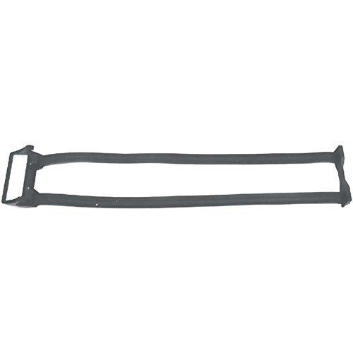 BIBIA Doppelspanngurt Für ESGE Gepäckträger, Länge verstellbar von 25 - 44cm, schwarz