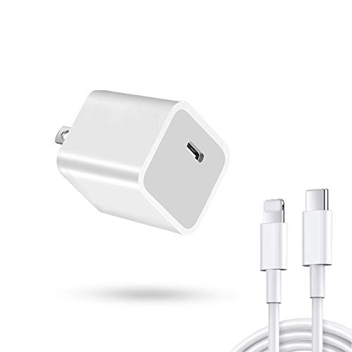 【最新】YUEFAN iphone 20W 急速充電器 iPhone12 USB C PD 充電器 Mini 超小型 type-c iPhone 12 Pro Max/iPhone 12 / iPhone Mini/iPad Pro/iPhone 11 Pro Max/iPhone X Pro Max/iPhone 8 Plus アップル(Apple)設備対応