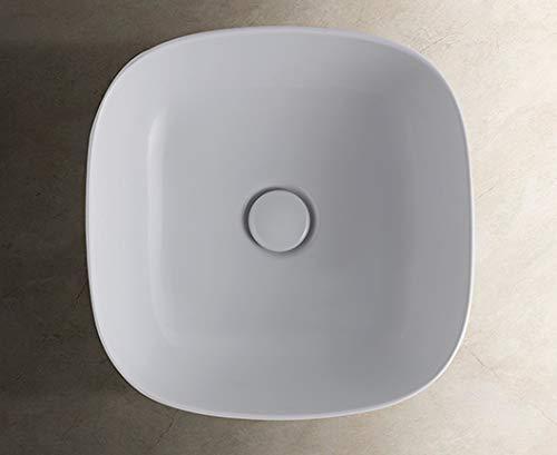 Waschbecken T-Edge 38 x 38 x 16 weiß B6Q38BI