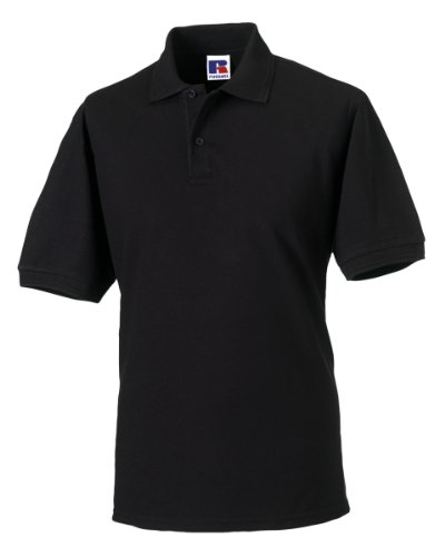 Russels Workwear - Polo - - Polo - Col polo - Manches courtes Homme - Noir - Noir - Xxx-large
