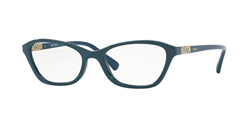 Vogue Damen 0Vo5139B Brillengestell, Petroleum grün, 52 EU