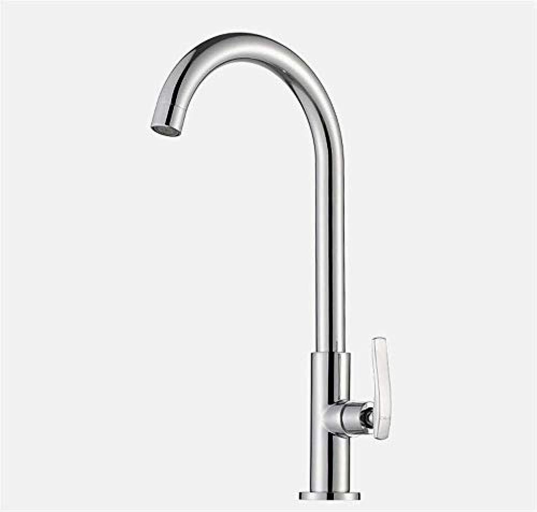 Willsego Wasserhahn Single Cold Water Tap Kitchen Sink Wasserhahn Single Farm Sink Hahn (Farbe   -, Gre   -)