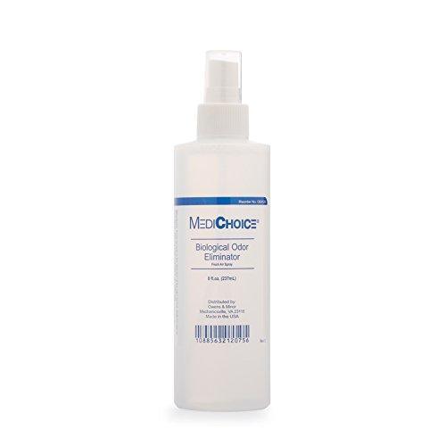 MediChoice Biological Odor Eliminator, Scented, Pump Spray, 8 Oz, 1314OE8120 (Each of 1)
