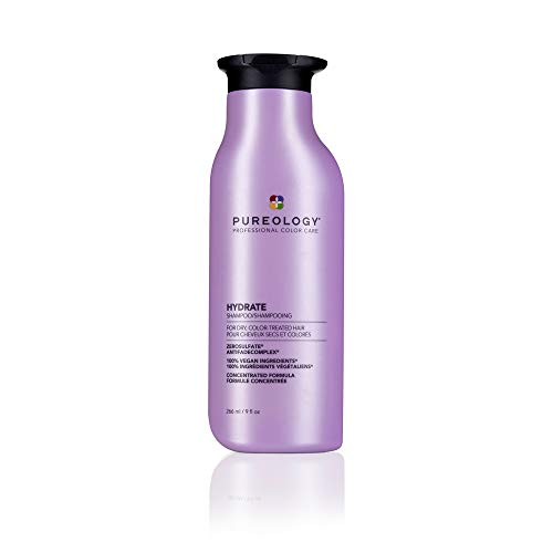 Pureology Hydrate Moisturizing Vegan Shampoo, 9 Ounces
